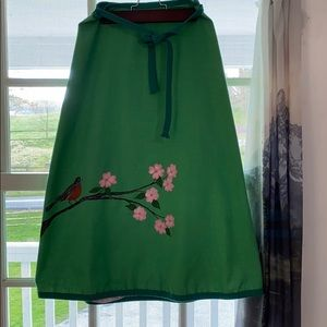 Hand painted Vintage Wrap Skirt